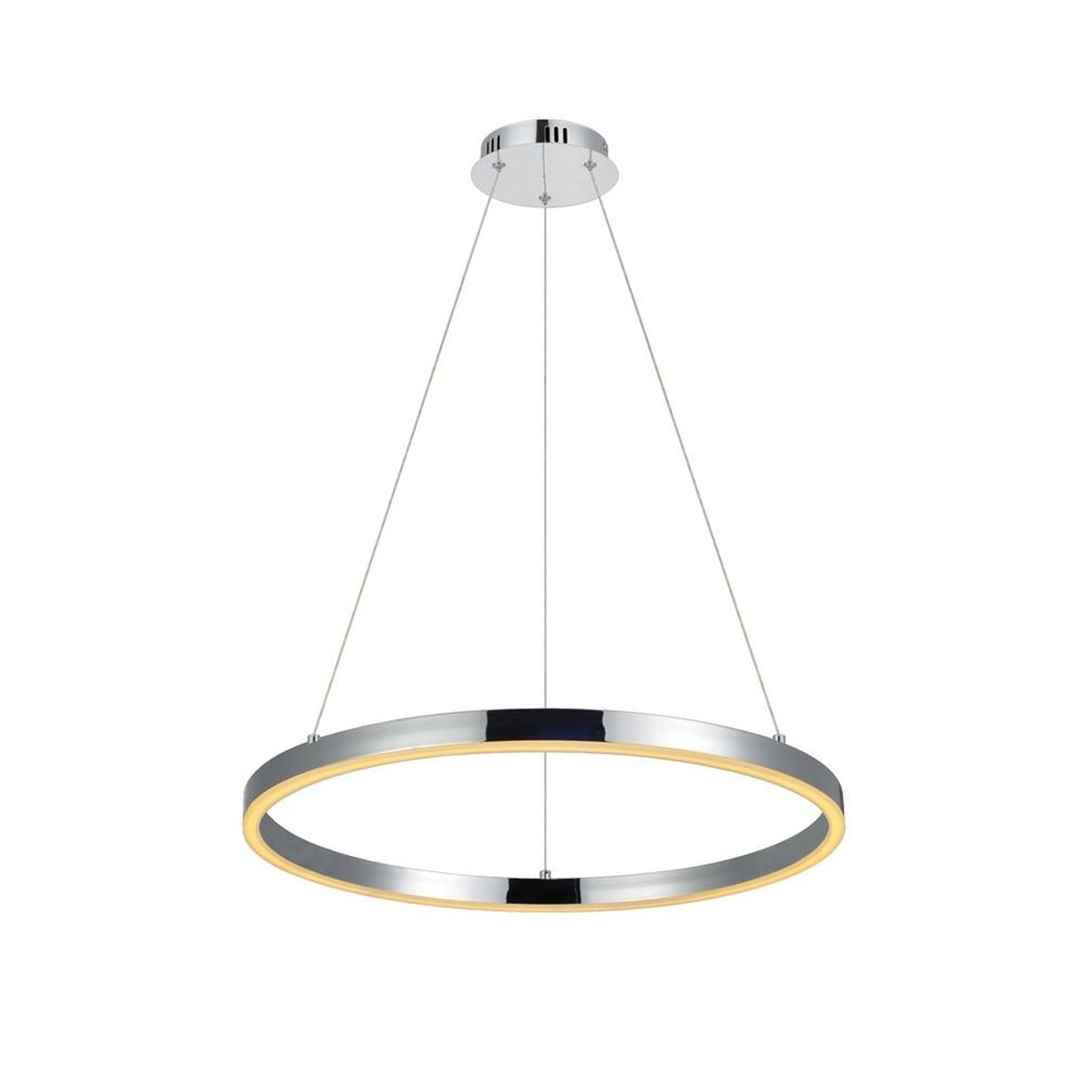 s.LUCE Ring 60 LED-Hängeleuchte Dimmbar 24