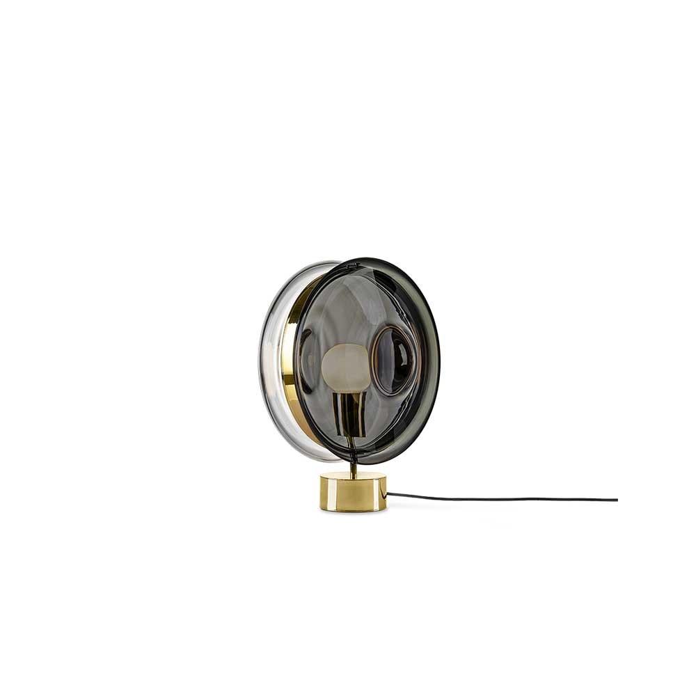 Bomma Glas-Tischlampe Orbital Ø 36cm 8
