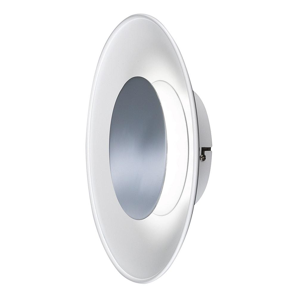Rondo LED-Deckenleuchte Ø 30cm Chrom 2