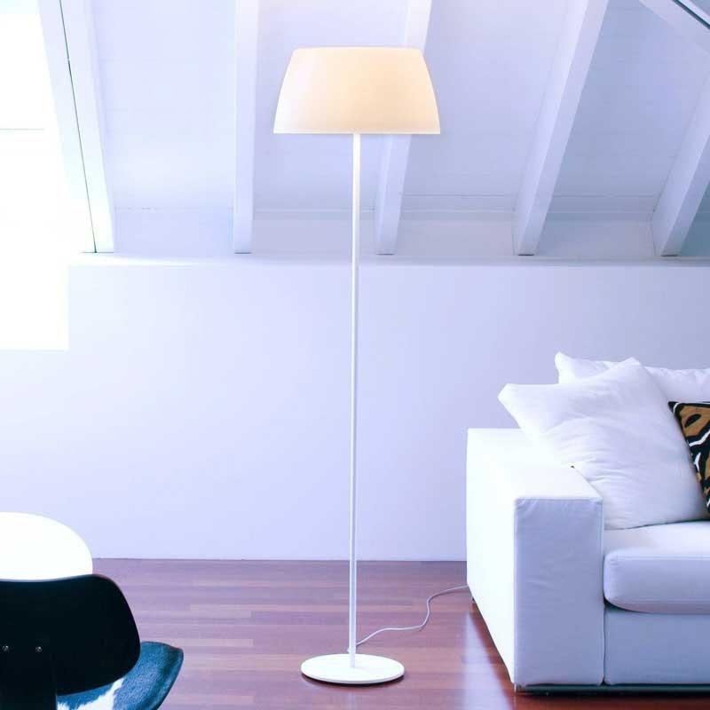 Prandina elegante Stehleuchte Ginger F50 Weiß 1