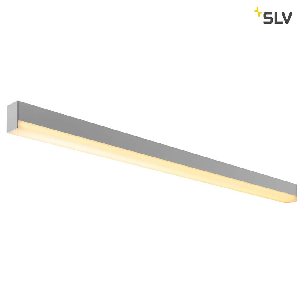 SLV Sight LED Wand- & Deckenleuchte Silbergrau 2