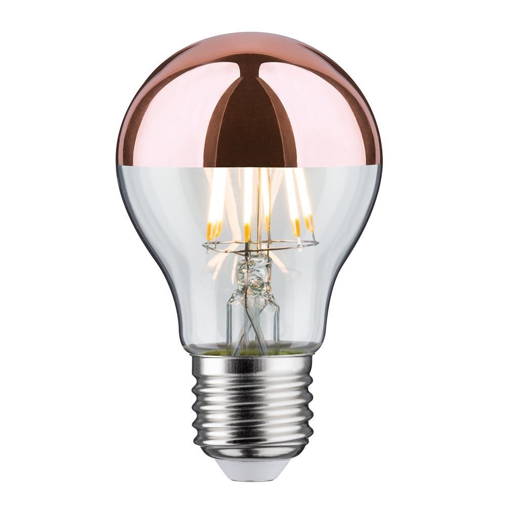 E27 LED Kopfspiegel Kupfer 680lm 7,5W 1