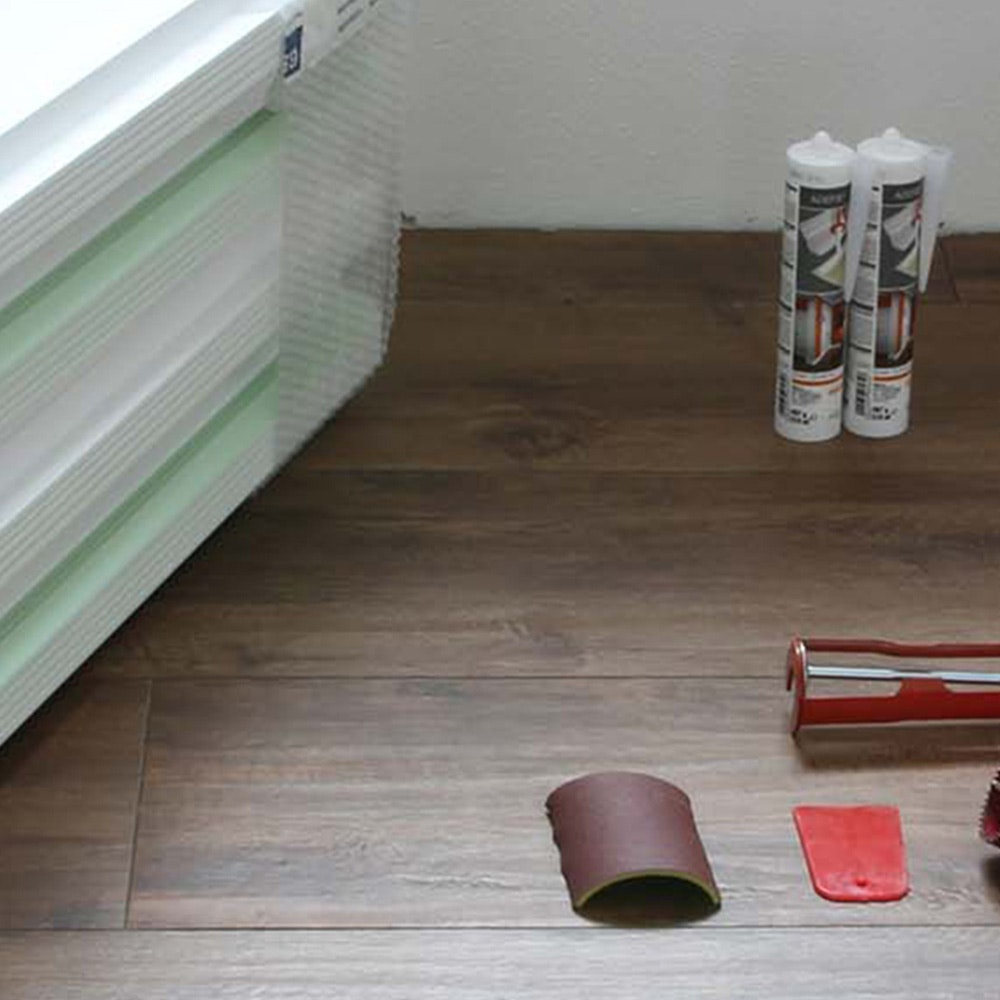 Dekor-Profil M Stuckleiste 1,2 m indirekt Wand oder Decke 6