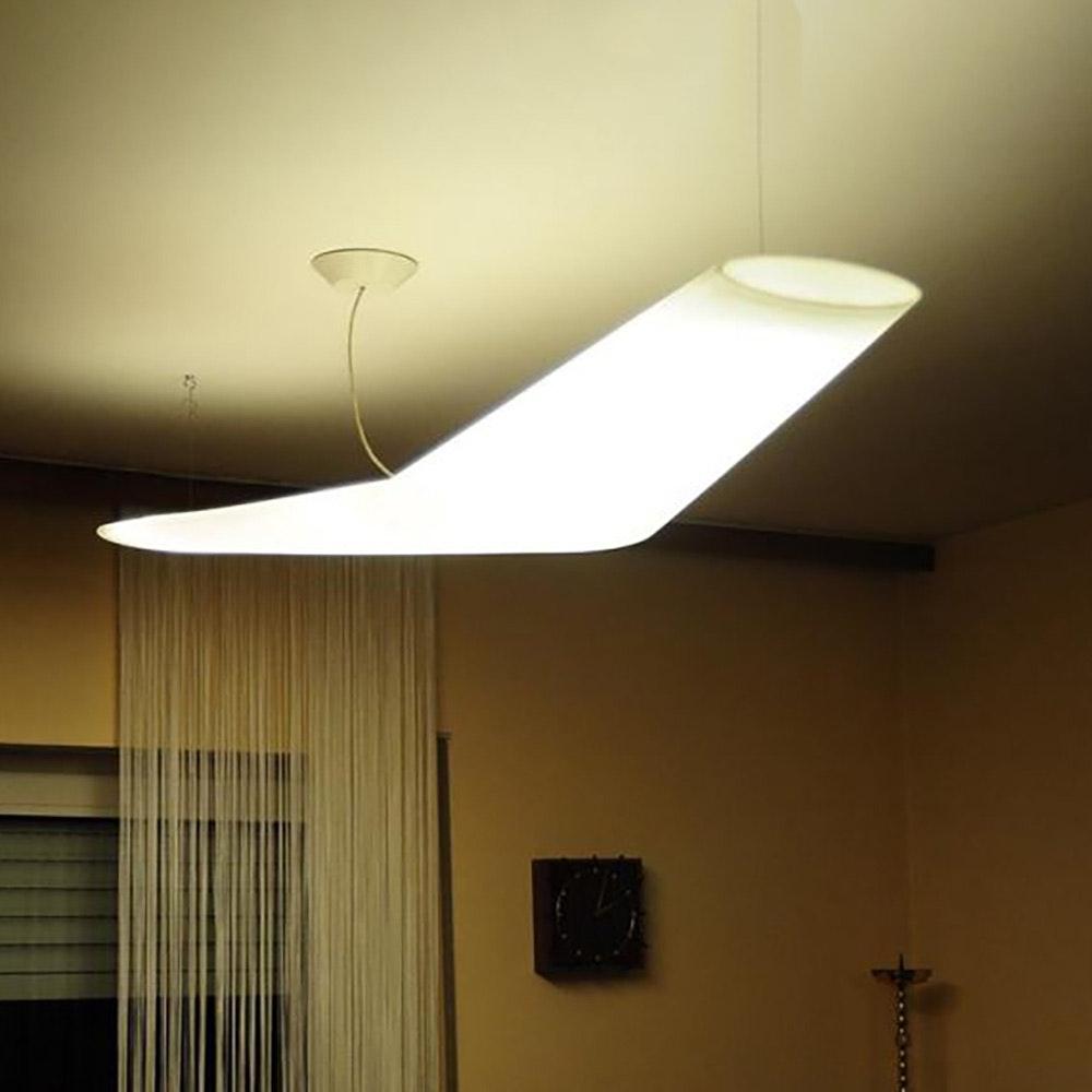 Artemide Mouette LED-Pendelleuchte asymmetrisch