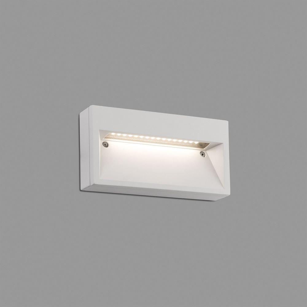 Path LED Außen-Wandlampe IP44 Weiß