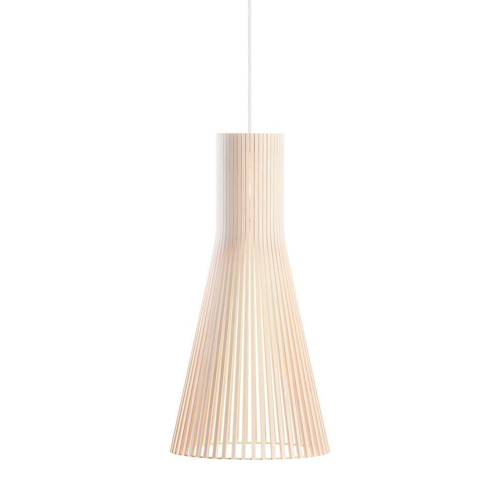 Pendelleuchte Secto Small 4201 aus Holz Ø 25cm 9