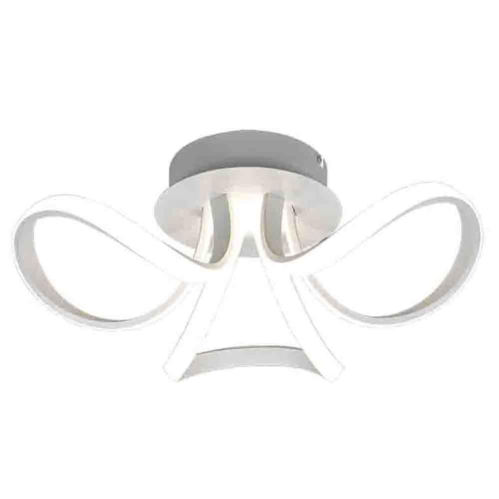 Mantra Knot LED-Deckenlampe Weiß Dimmbar 2