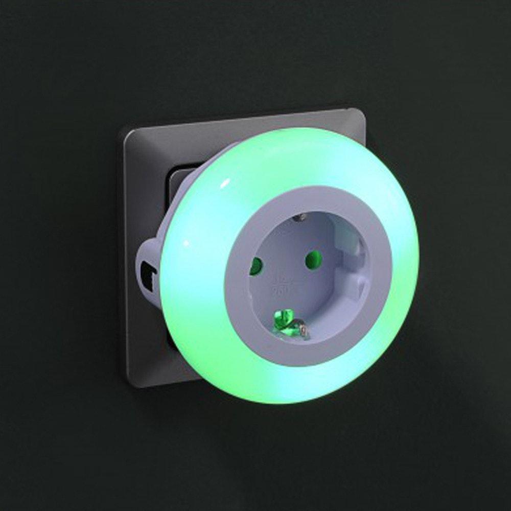 LED-Nachtlicht Steckerleuchte 3x LED 8cm 1
