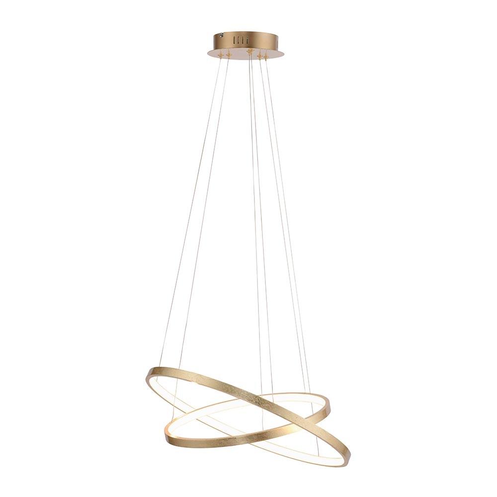 LED Ring-Hängeleuchte Circle Ø 50cm 3