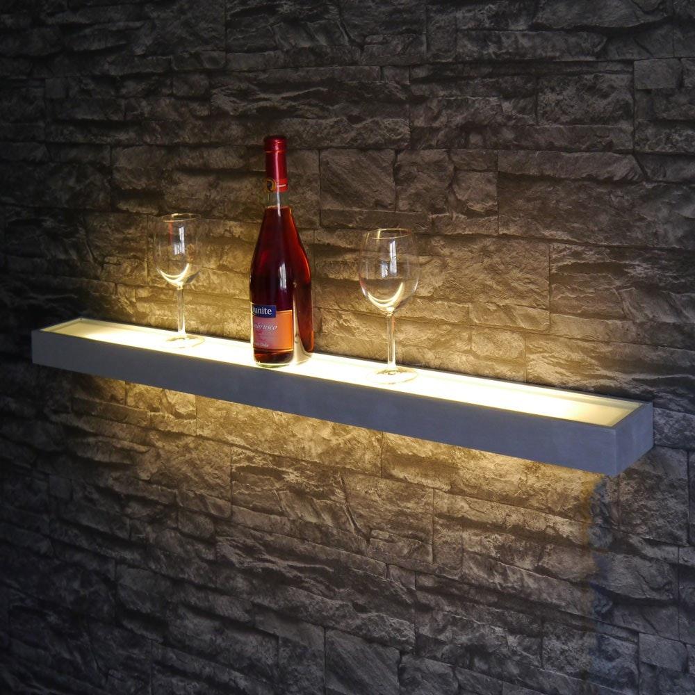 s.LUCE Cusa LED-Lichtboard 70cm Wandleuchte Up&Down Alu-gebürstet 6