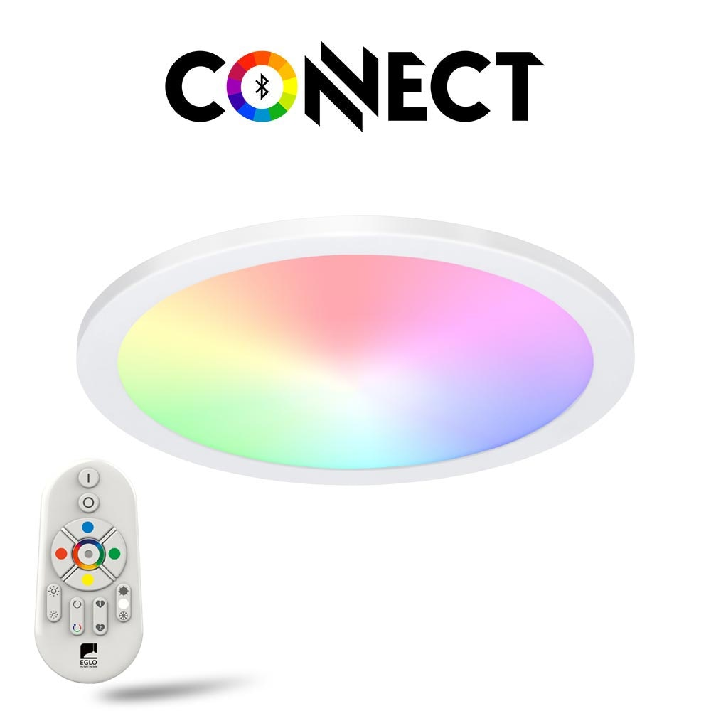 Connect LED-Panel Deckenleuchte Ø 30cm 2100lm RGB+CCT 1