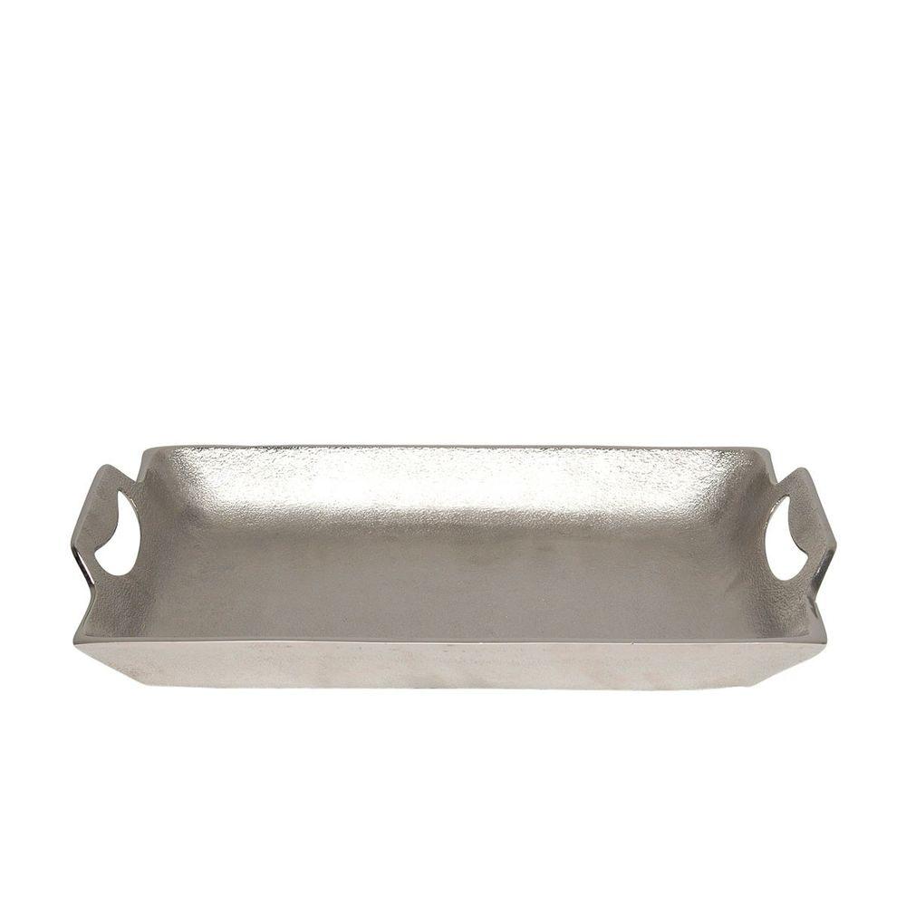 Tablett Domestica Klein Aluminium Silber 3