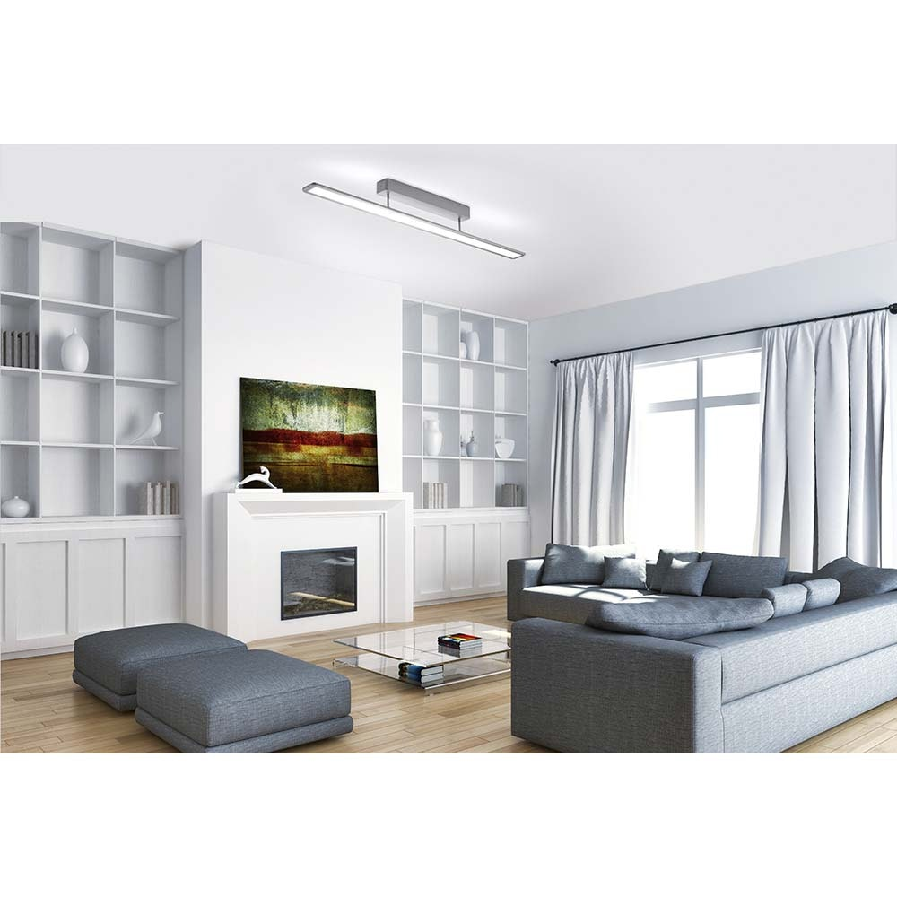 Nika Deckenleuchte, aluminium 1xLED-Board, 30W, 2700K IP20 8