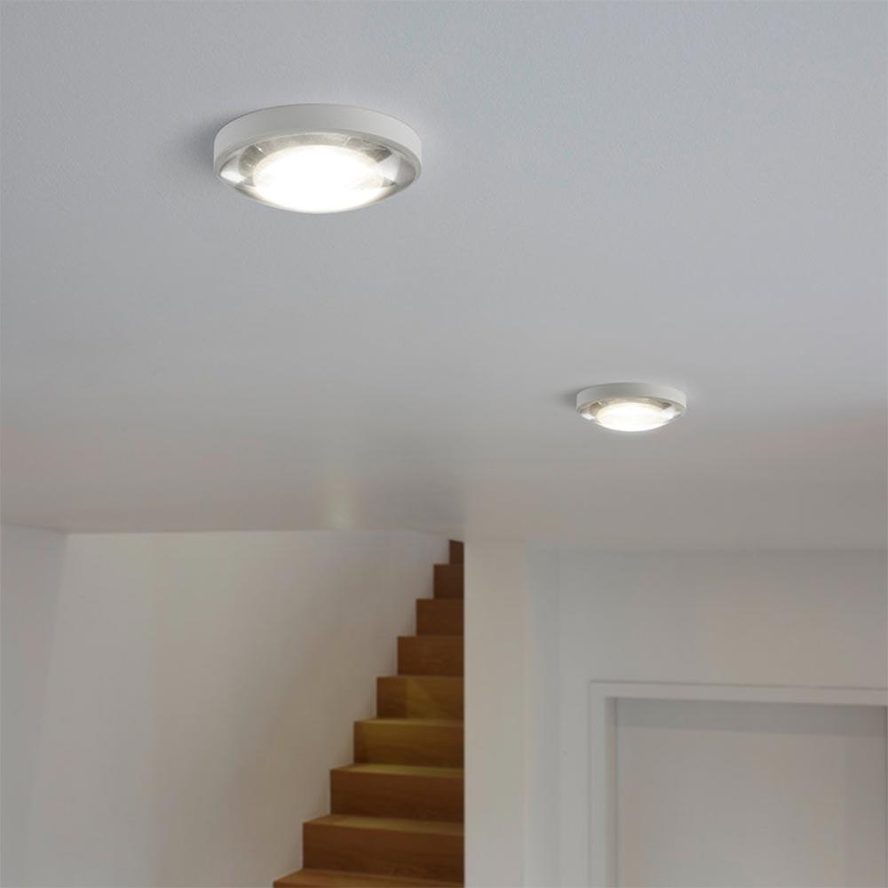 Helestra LED Deckeneinbauleuchte Lug Dimmbar 805lm Weiß 1
