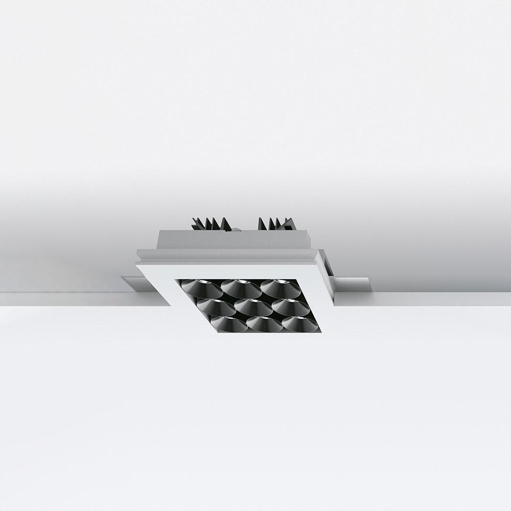 Linealight Gypsum Cell9 LED-Einbauspot