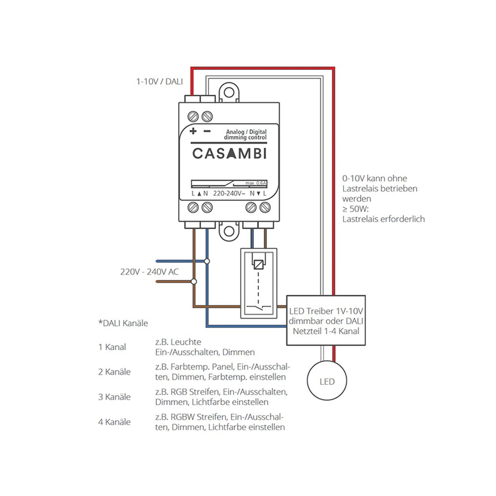 CASAMBI ASD Modul Controller 0-10V & 1-10V Leuchten 3