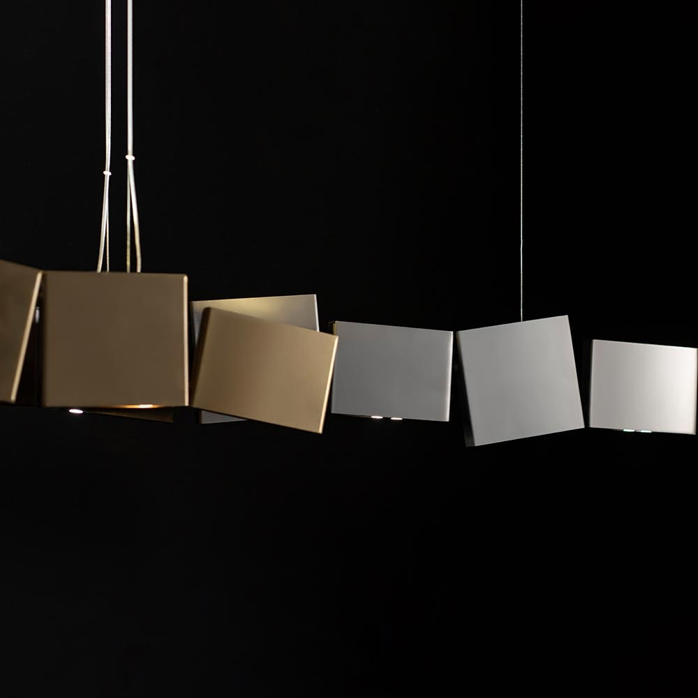 Terzani Gaia LED Design-Hängelampe 125cm 1