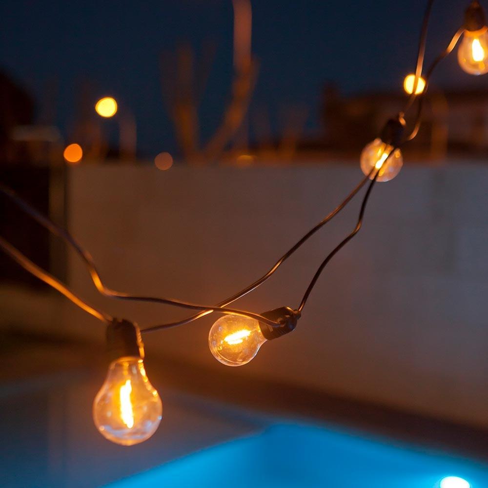 Licht-Trend Girlande Allegra 10-flammig E27 7