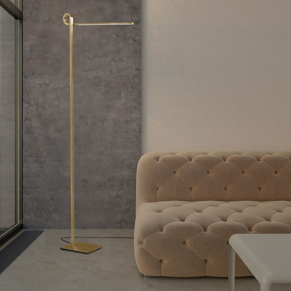 Mantra Cinto geschwungene LED-Stehlampe Dimmbar 2