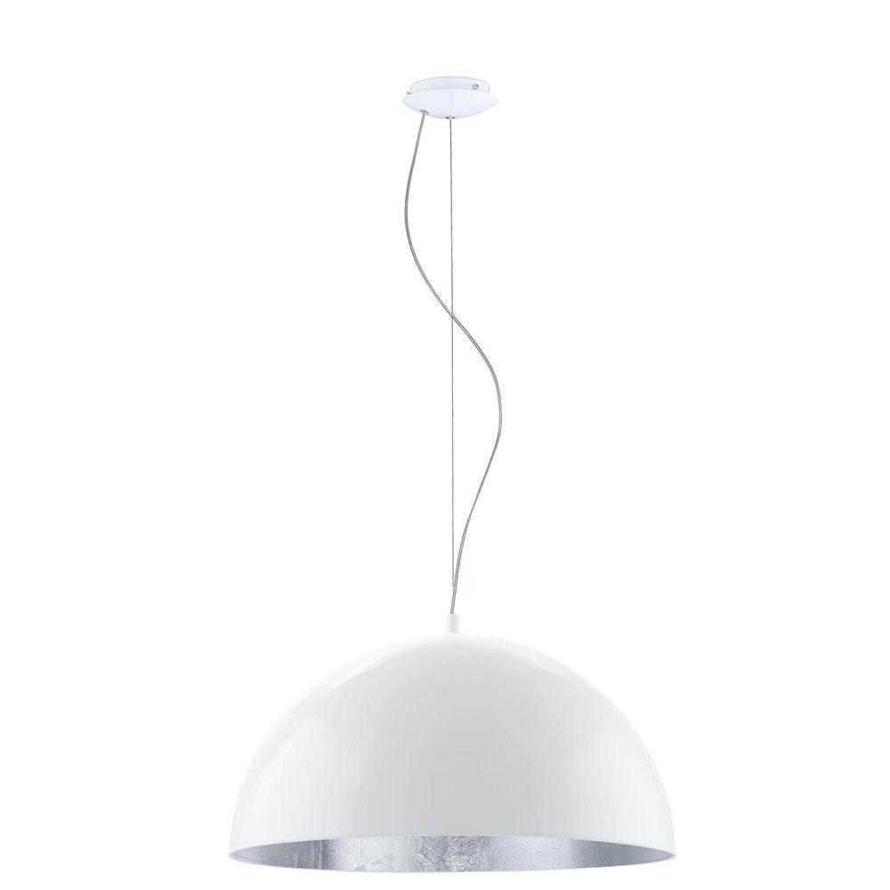 Licht-Trend Hängeleuchte Halo  Ø 53cm Weiß, Silberfarben