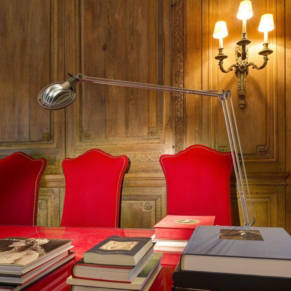 Luceplan LED Schreibtischleuchte Berenice mit Befestigung thumbnail 3