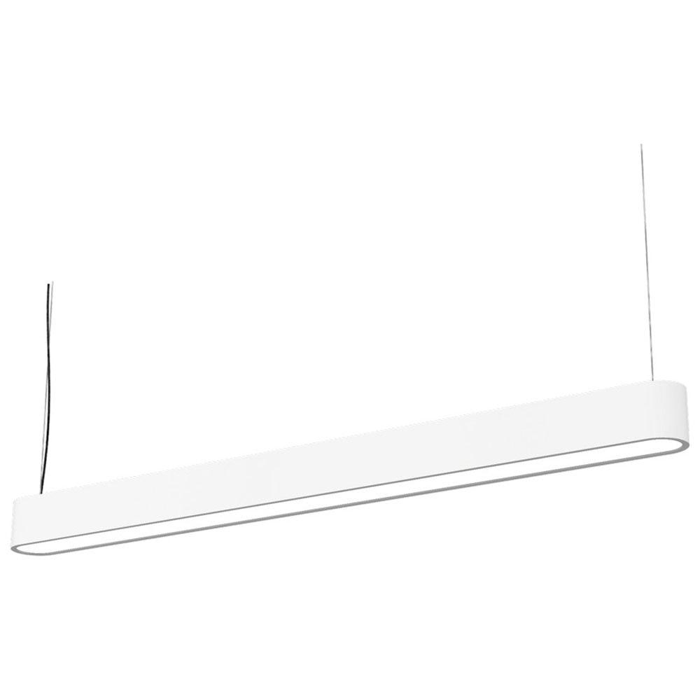 Talu Hänge-Schreibtischleuchte 120cm T8 22W Weiß 2