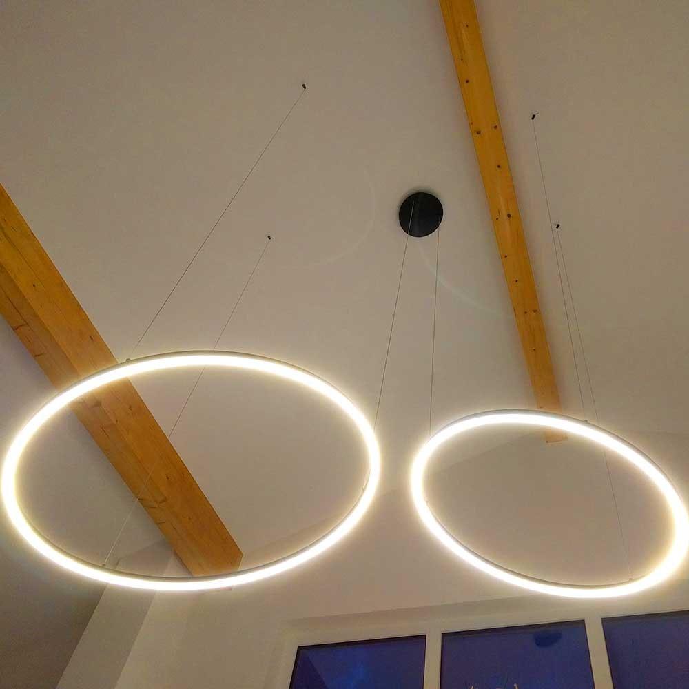 s.LUCE Ring 100 LED Hängelampe Dimmbar thumbnail 5