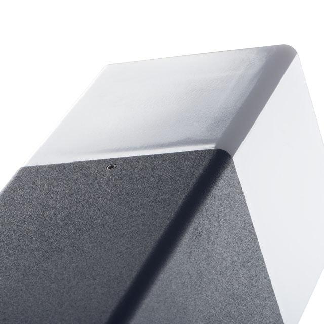 Eckige Pollerleuchte Vadra 80cm IP44 Anthrazit, Weiß thumbnail 3
