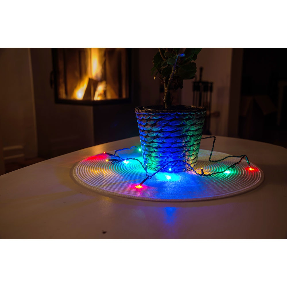 Micro LED Lichterkette verschweißt 50 bunte Dioden 2