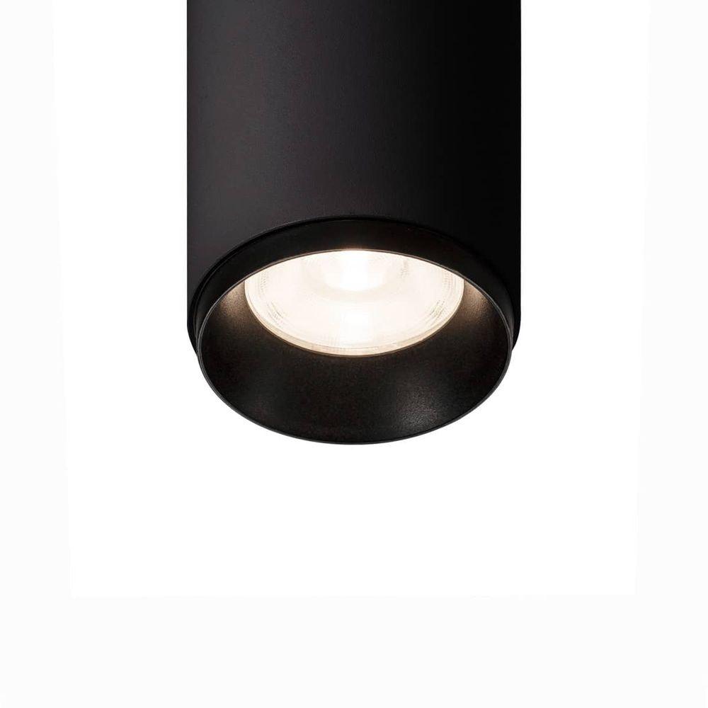 Numinos LED-Deckenleuchte Schwarz zylindrisch 3