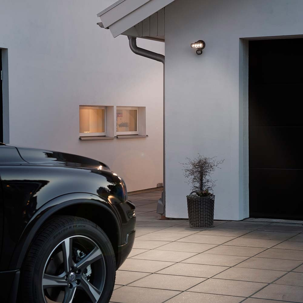 Prato LED Außenstrahler mit Bewegungsmelder Schwarz 2