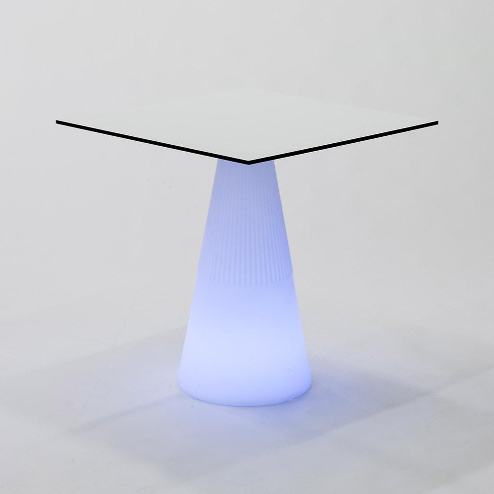 Licht-Trend LED beleuchteter Solar-Tisch Itaca mit Akku und Fernbedienung 2