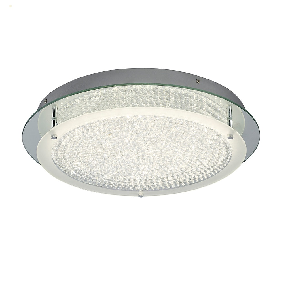Mantra Crystal LED Mirror runde Deckenlampe 5