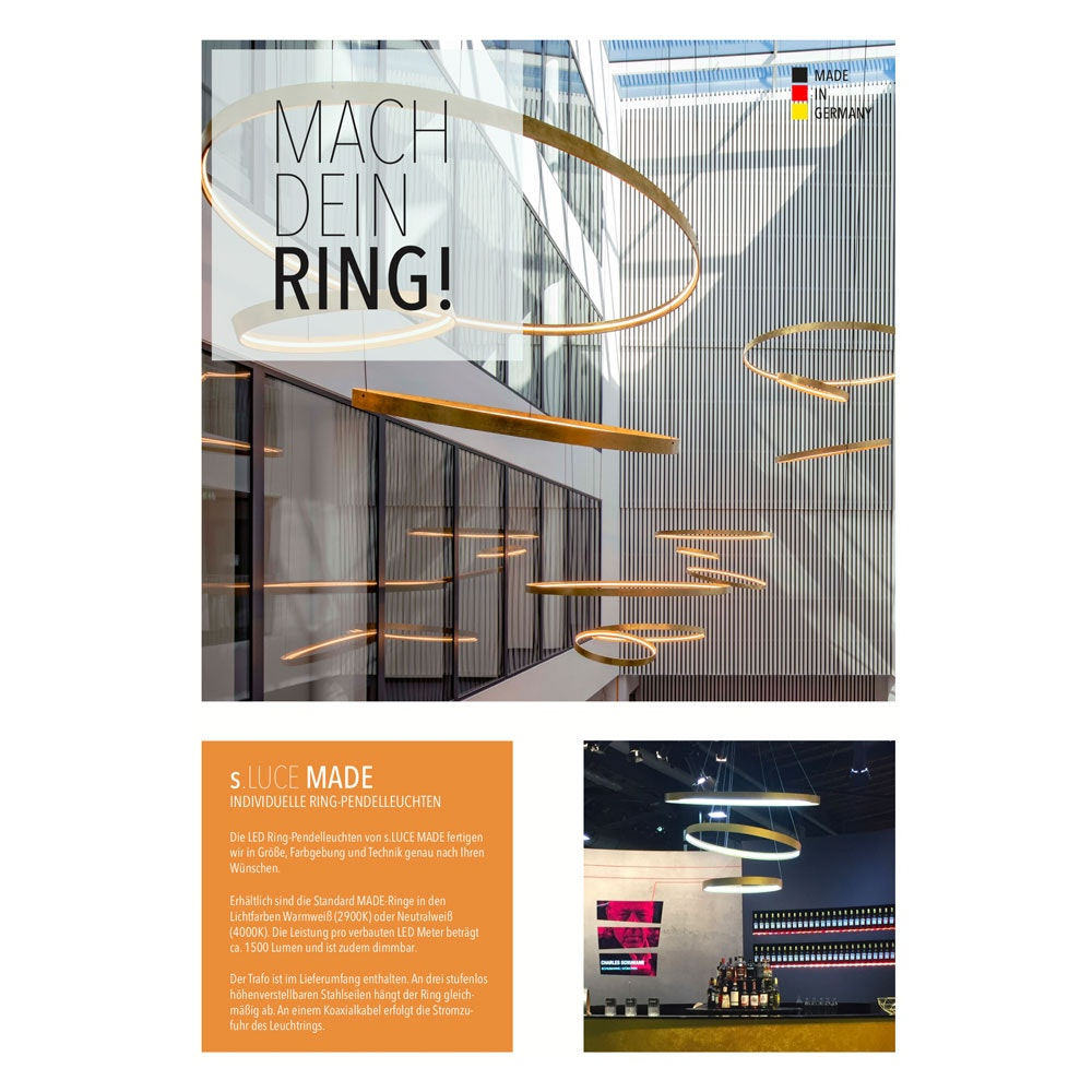 s.LUCE Made Ring Flyer
