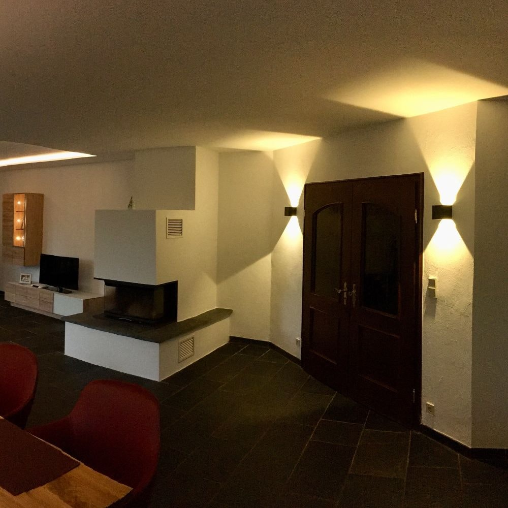 s.LUCE pro Ixa LED Innen- & Außen-Wandleuchte IP44 21