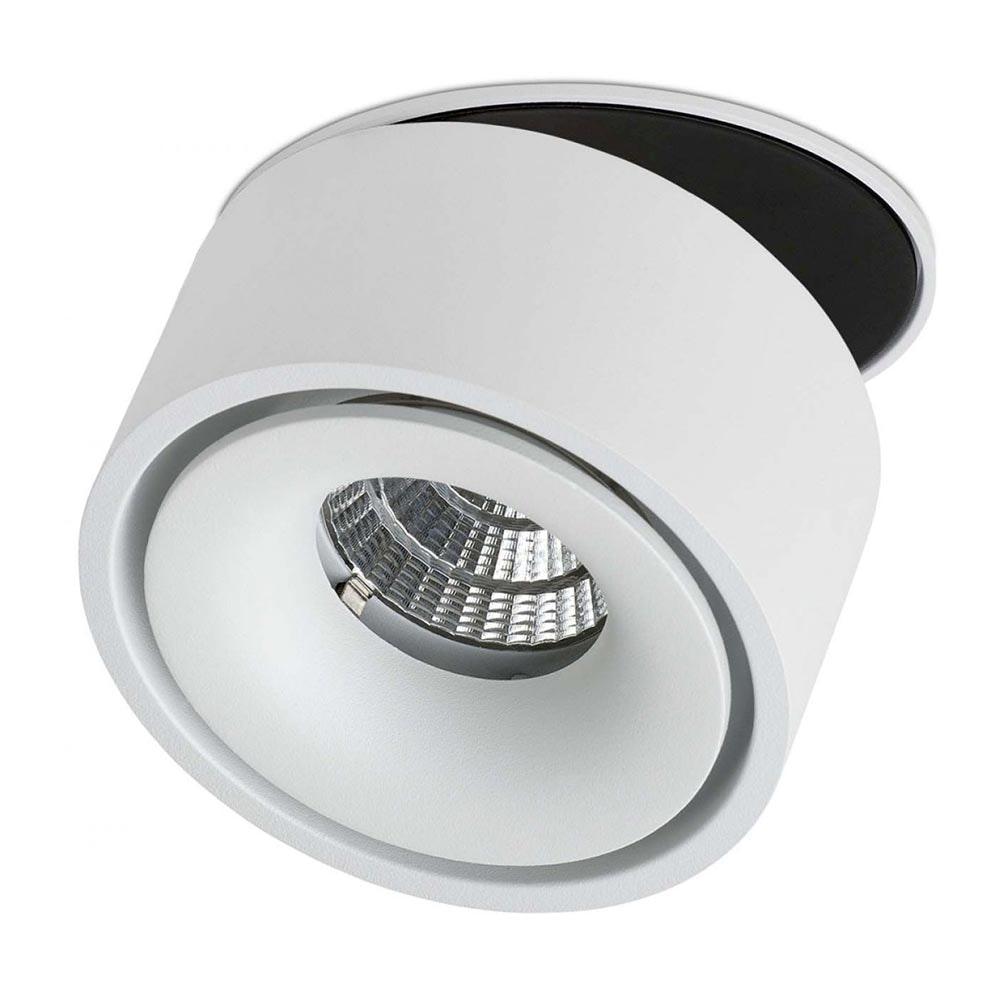 Licht-Trend LED Einbauleuchte 680lm Simple Weiß, Schwarz 4