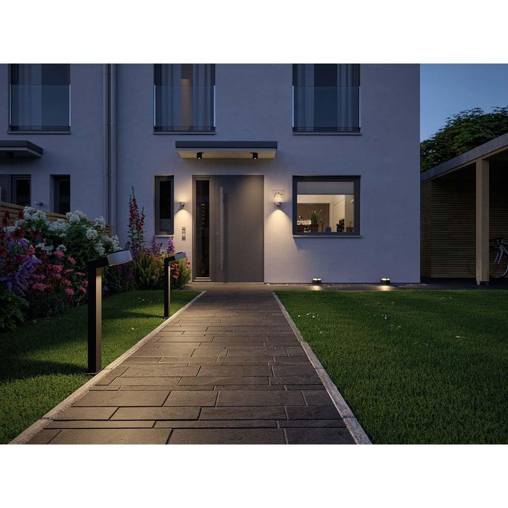 Aussen Aufbauleuchte House IP44 55° 600lm 3000K 5,3W Anthrazit 2