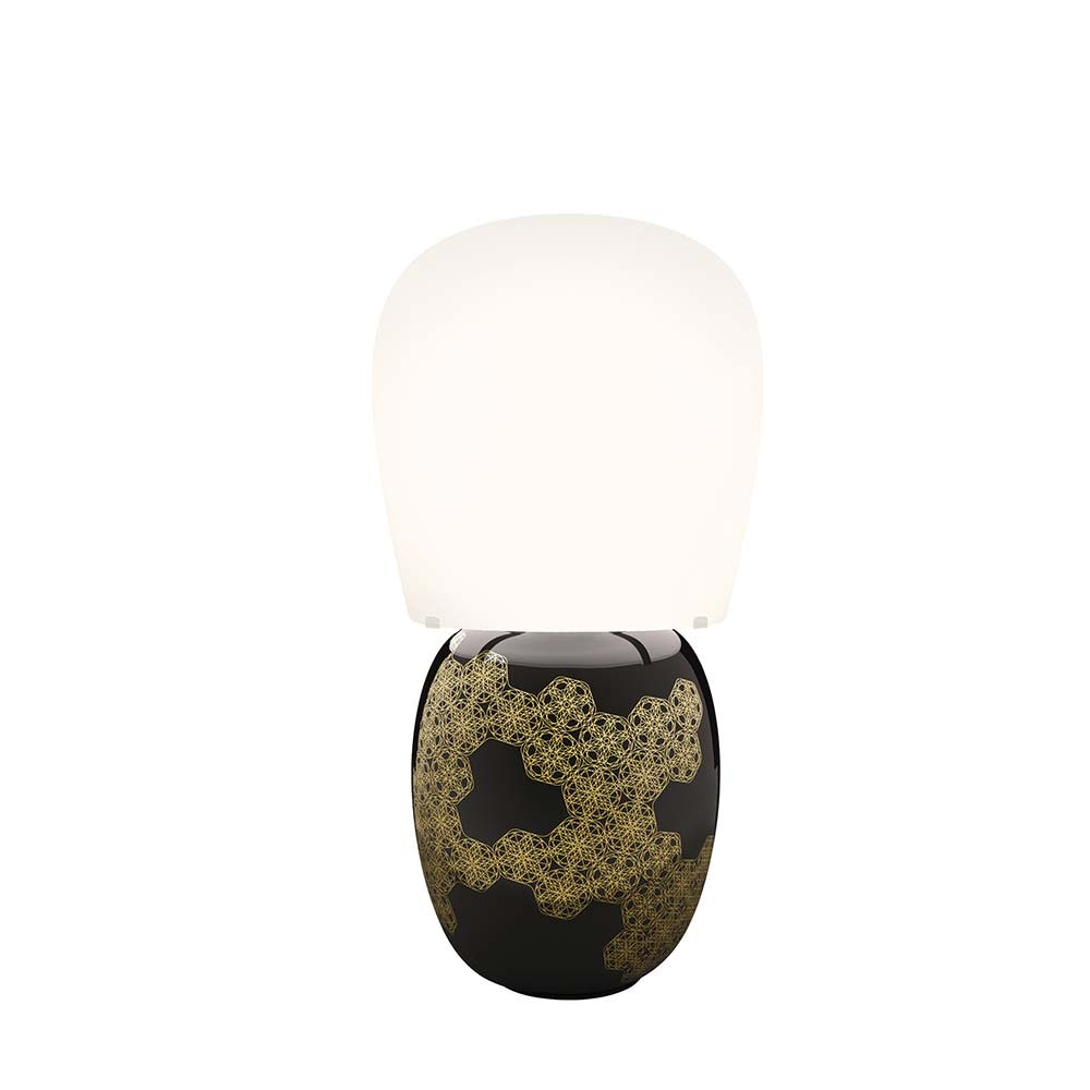 Kundalini Keramik Tischlampe Hive 47cm Dimmbar thumbnail 5