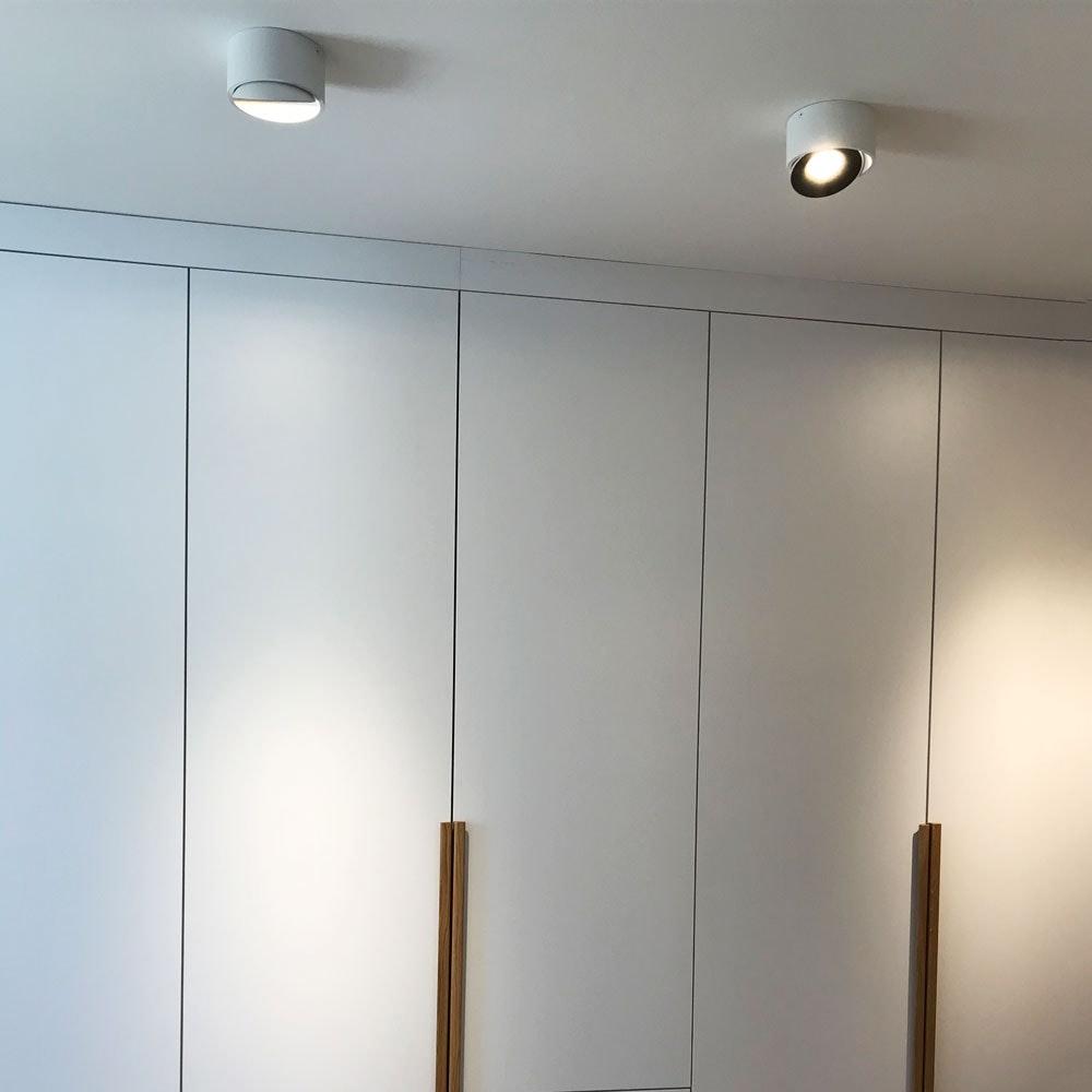 LED Aufbauspot Santa schwenkbar & dimmbar 14