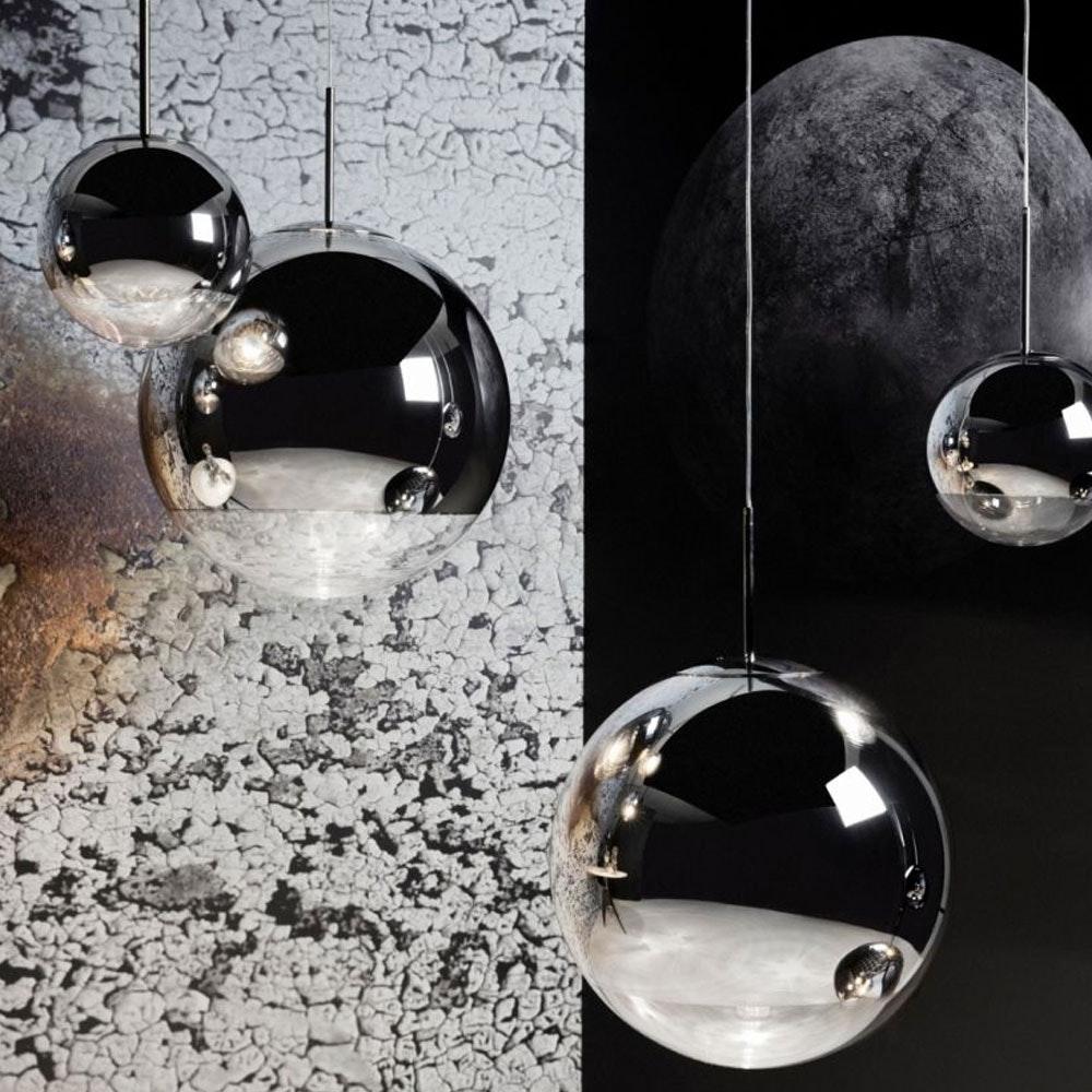 Tom Dixon Mirror Ball 3er Mobile Galerieleuchte thumbnail 3