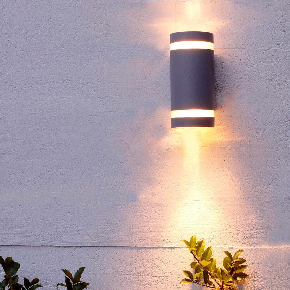 Außenwandlampe Focus IP44 Anthrazit 1