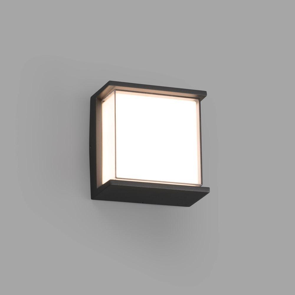 LED Außenwandleuchte HIKARI 3000K IP65 Dunkelgrau