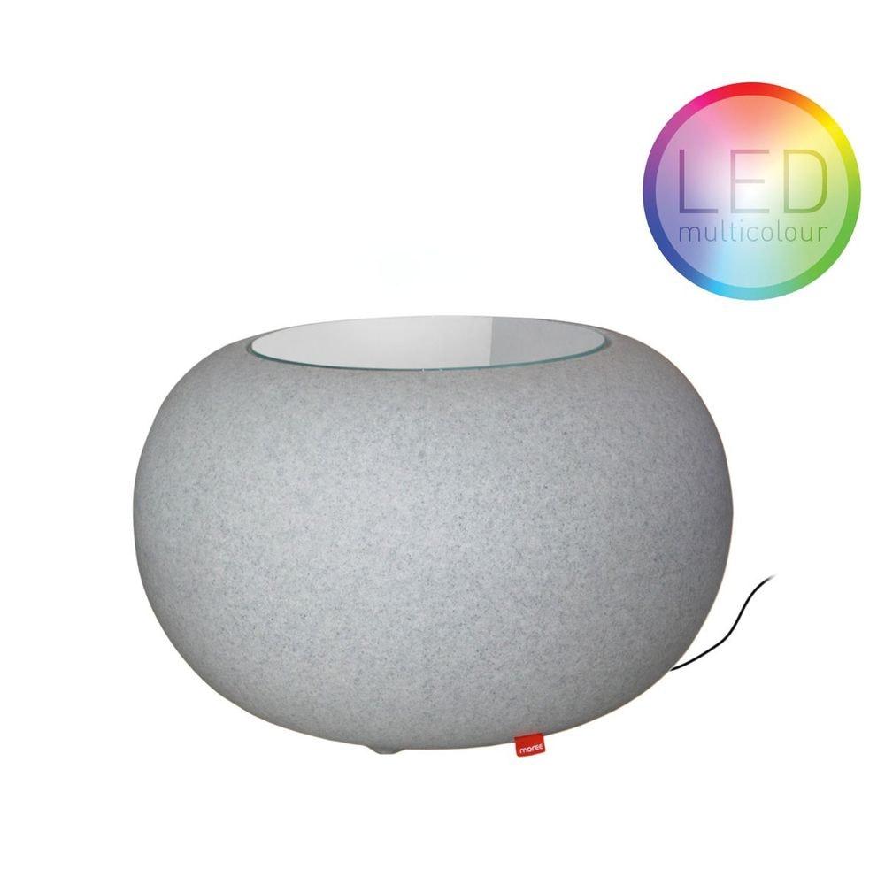 Moree Granit Bubble Outdoor LED Tisch oder Hocker thumbnail 6