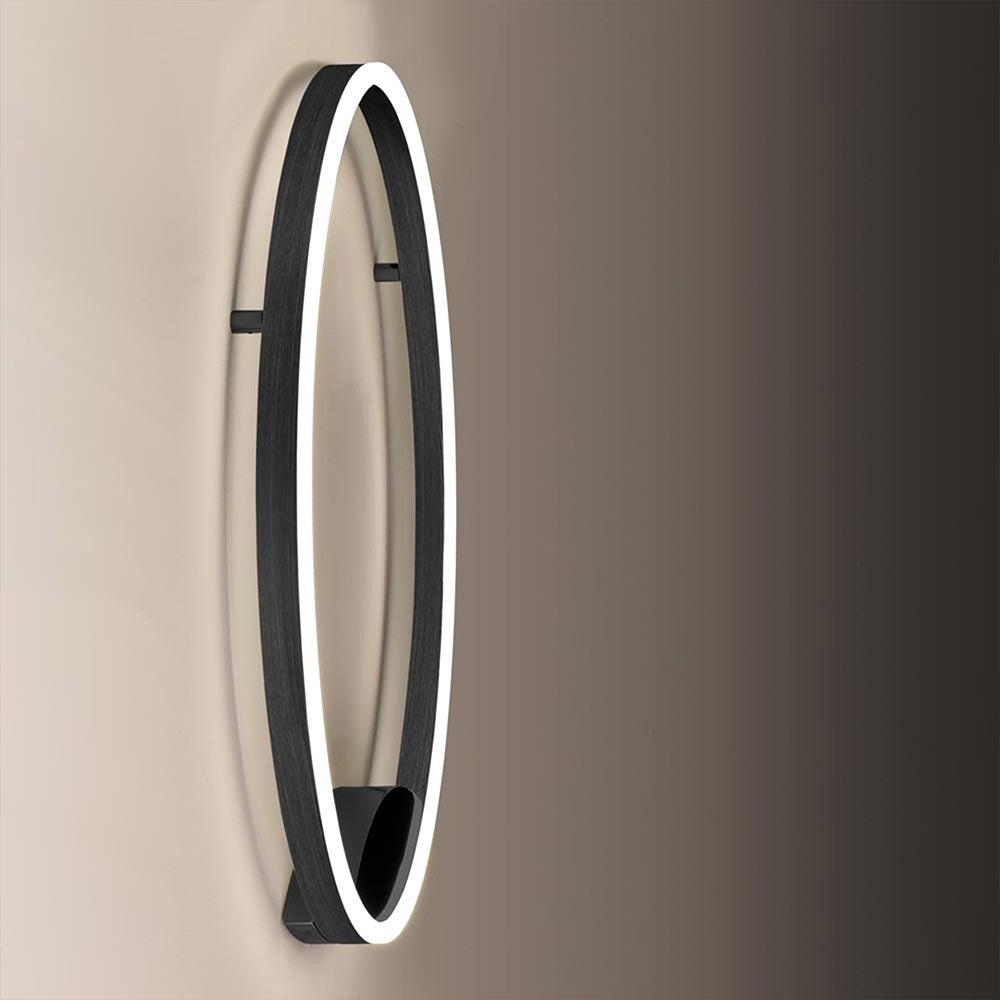 s.LUCE Ring 60 LED Wand & Deckenleuchte Dimmbar 5