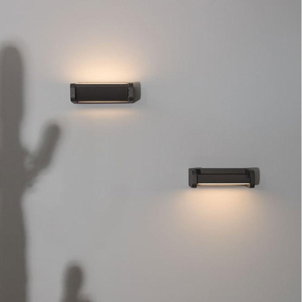 Nova Luce Volver LED-Wandleuchte drehbar Schwarz 1