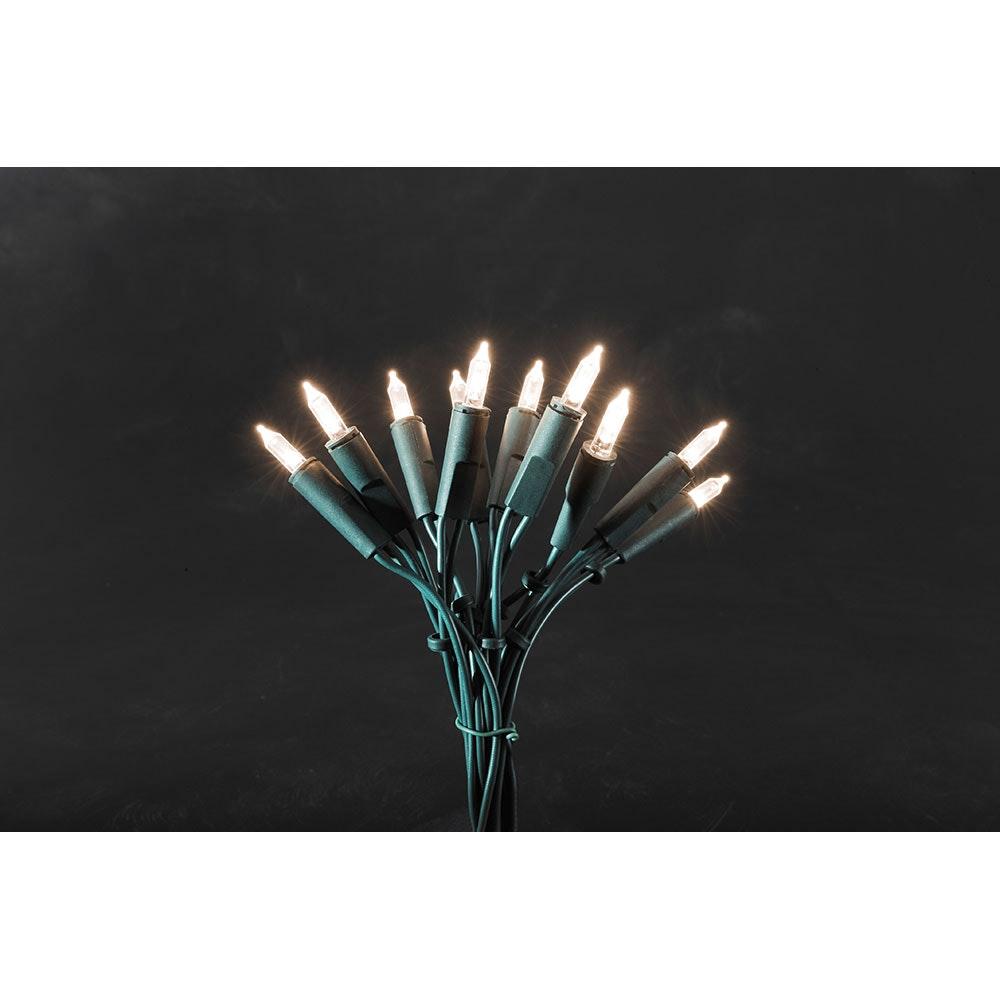 LED Minilichterkette 50 Warmweiße Dioden