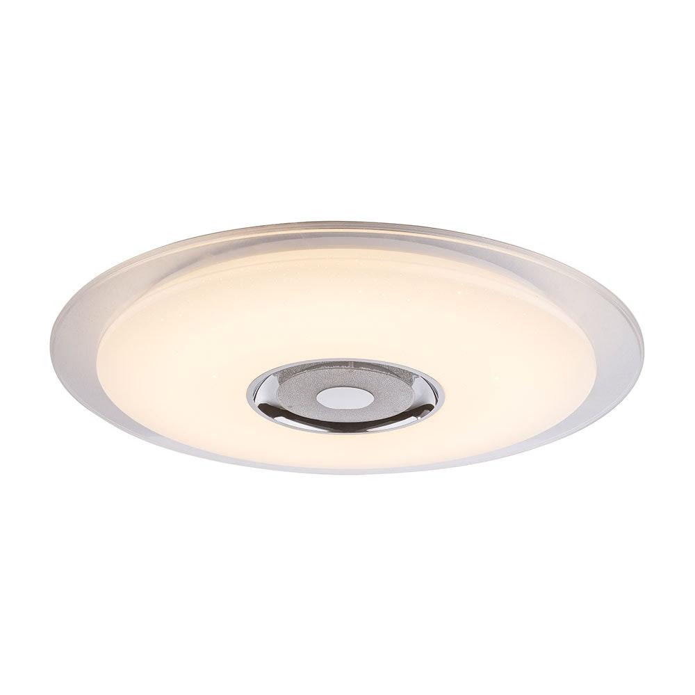 LED Deckenleuchte Tune Sparkle Decor Lautsprecher CCT APP Weiß, Opal, Klar 4