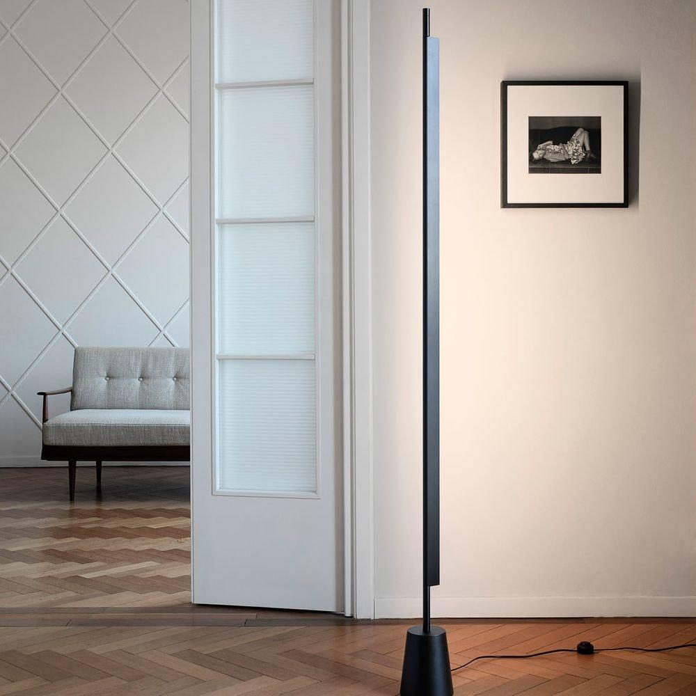 Luceplan Compendium LED Stehlampe (ohne Base) 3000K Schwarz thumbnail 4
