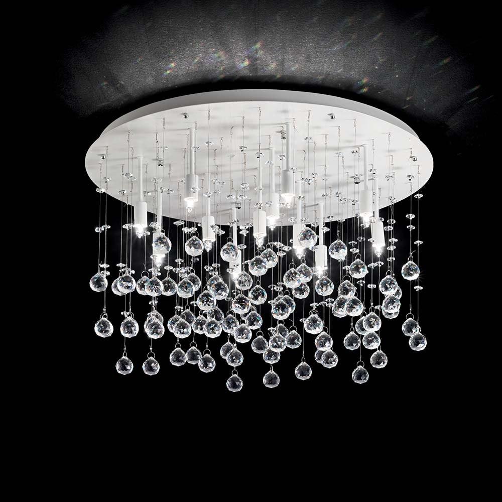 Ideal Lux Deckenleuchte Moonlight Pl12 Weiß