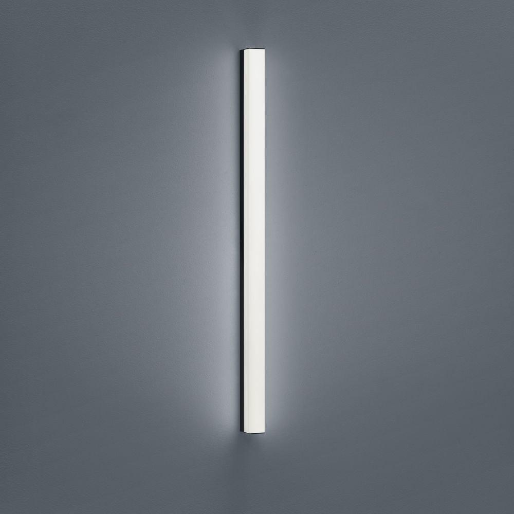 Helestra LED Spiegellampe Lado 90cm 1560lm Schwarz warmweiss 2